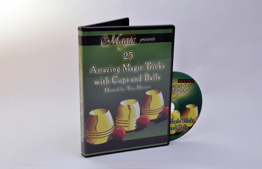 Cups and Balls DVD